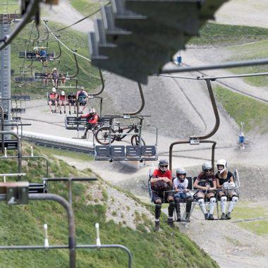 Les Bike parks