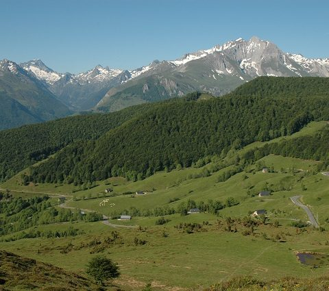 Le col de Couraduque, par la vallée d'Estaing
