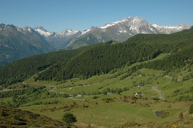 Le col de Couraduque, par la vallée d'Estaing
